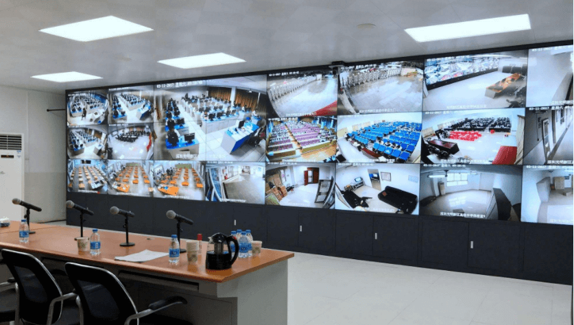 学校的监控案例-重庆电脑维修-重庆梓菊科技公司