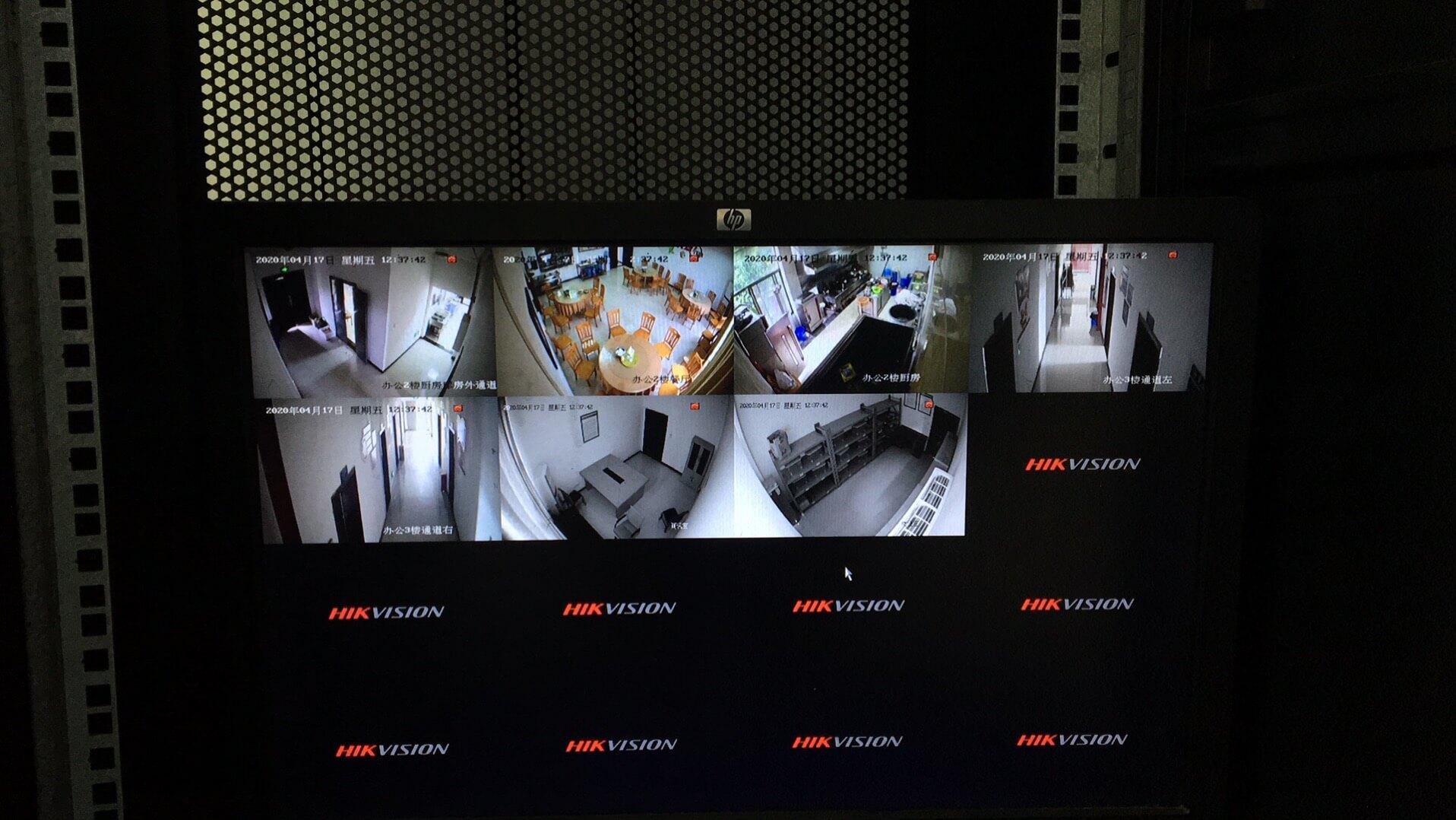 监控安装案例-重庆电脑维修-重庆梓菊科技公司