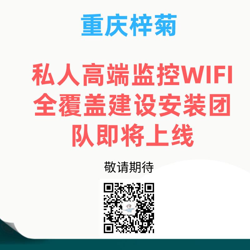 私人高端住宅监控WIFI全覆盖建设安装团队即将上线-重庆电脑维修-重庆梓菊科技公司